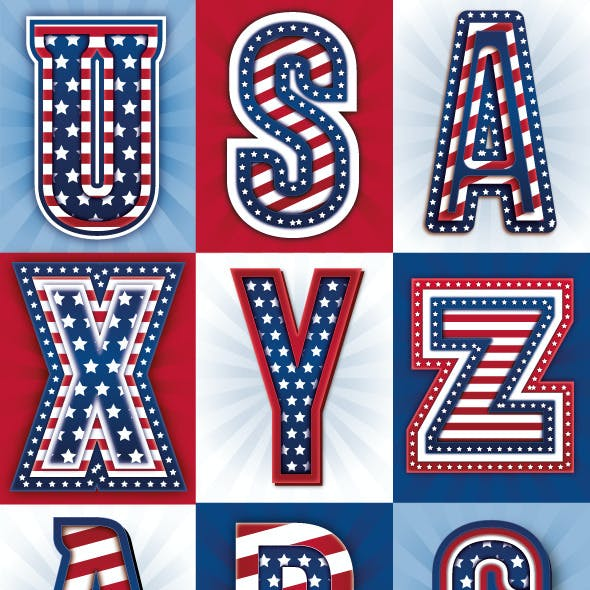 American Flag Styles
