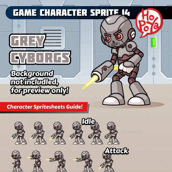 Game Character Sprite 14
