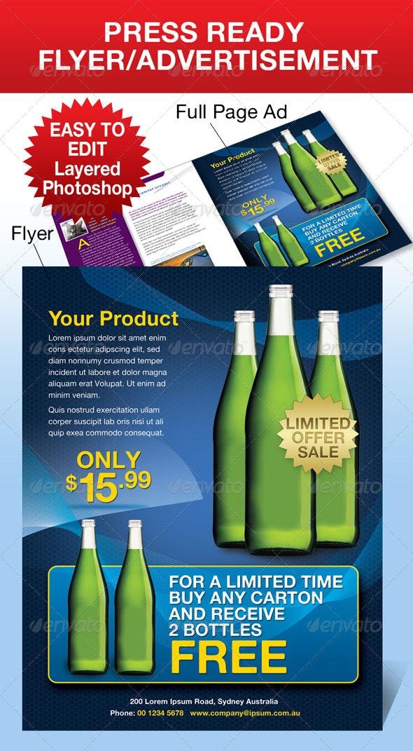Advertisement/Flyer - Commerce Flyers