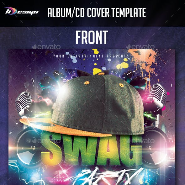 Swag / Hiphop Album CD Cover