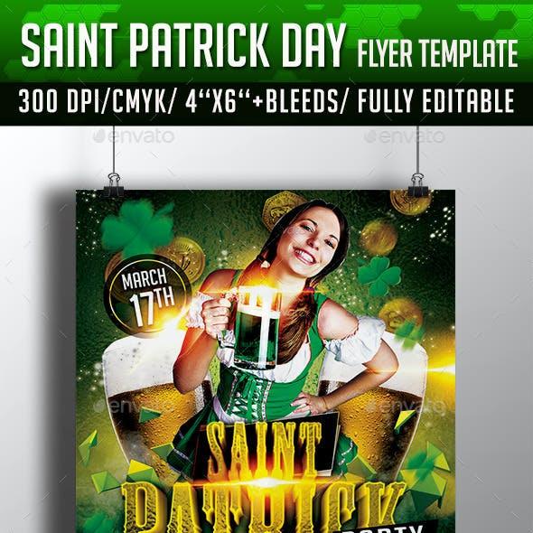St Patricks Day Flyer
