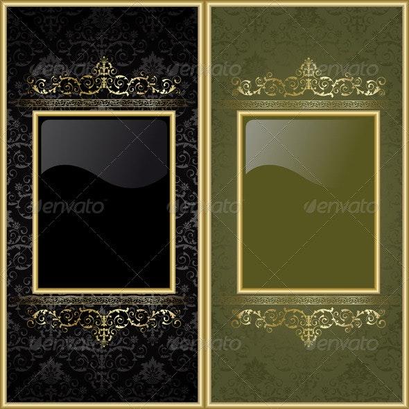 Set from frames - Backgrounds Decorative