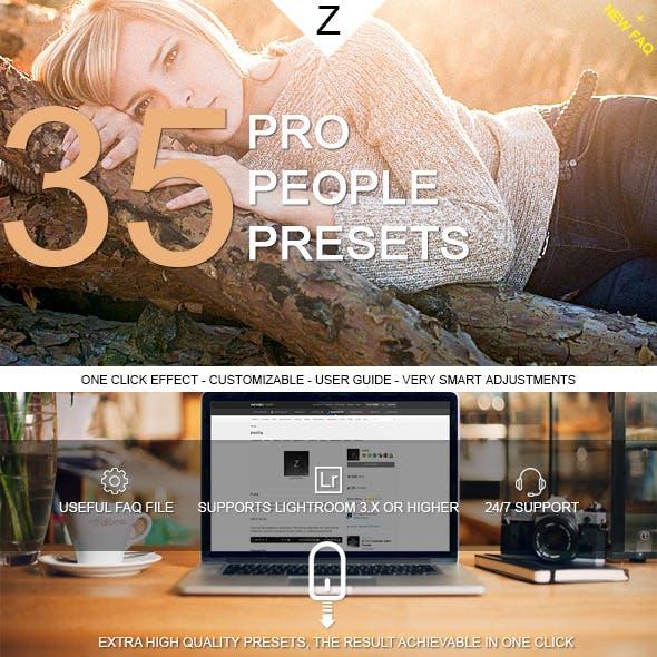 35 Pro People Presets