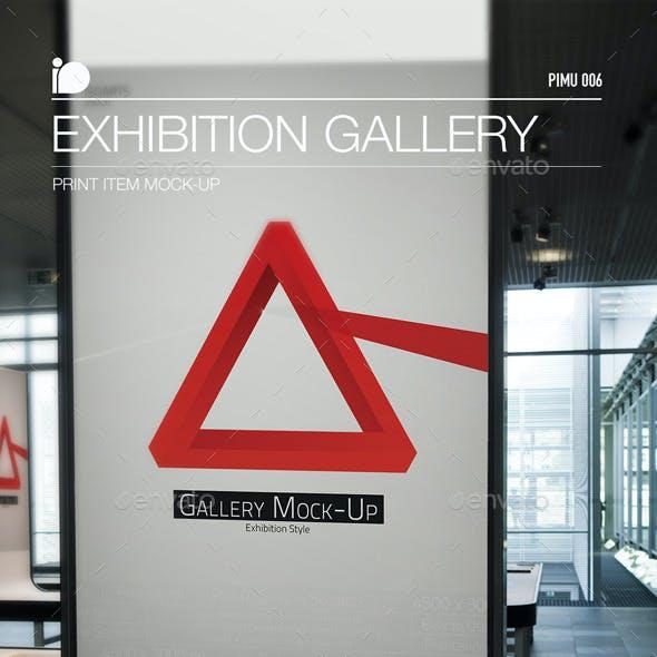 Mock-Up • Exhibition Gallery