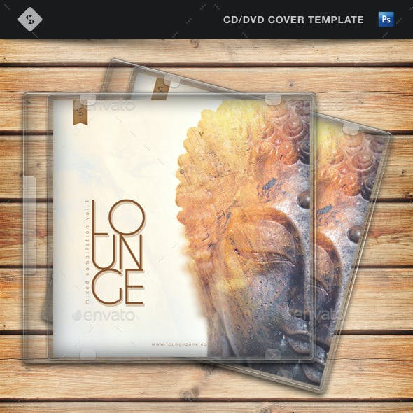 Lounge Music Compilation - CD Cover Template