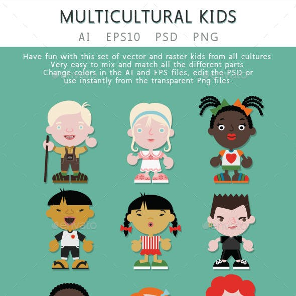 Multicultural Kids Creation Kit