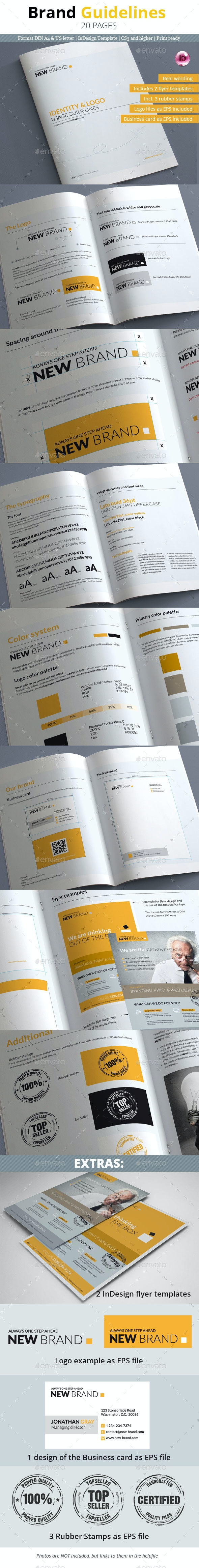 Brand Guidelines - 20 Pages - Informational Brochures