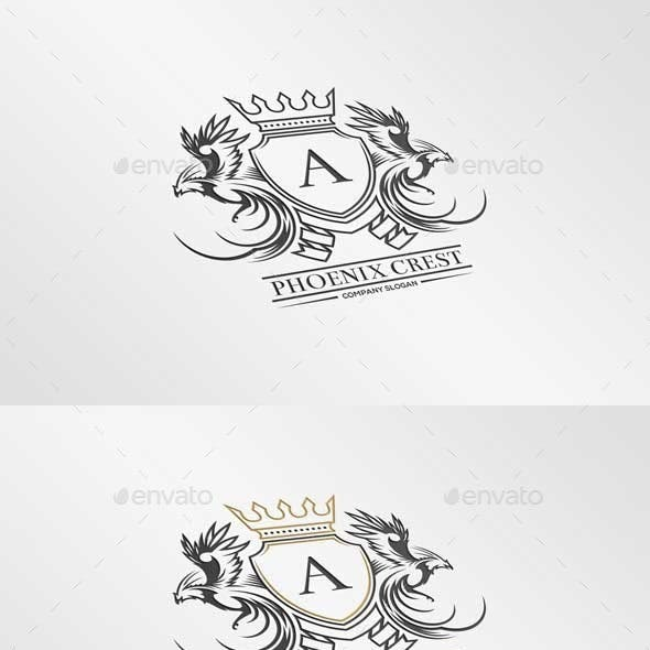 Phoenix Crest Logo