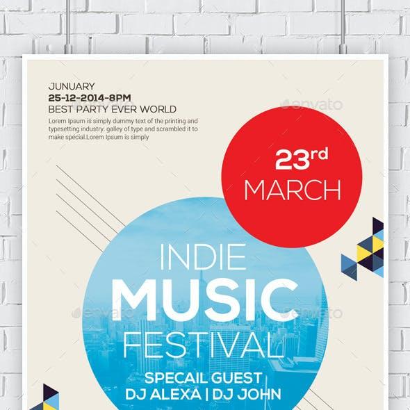 Festival / Concert Flyer Templates