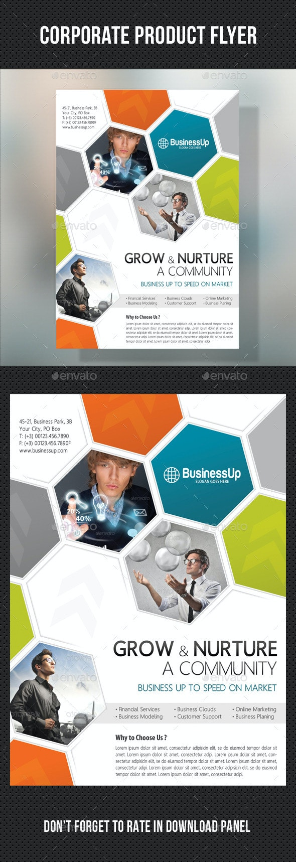 Corporate Business Flyer 02 - Corporate Flyers