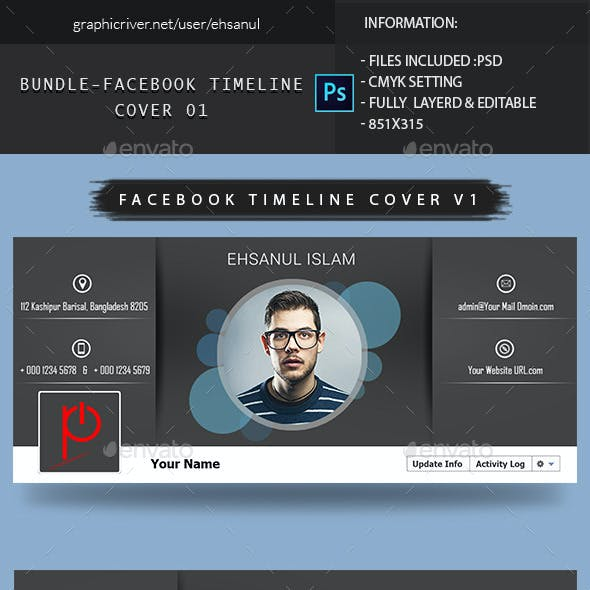 Bundle Facebook Timeline Cover 1