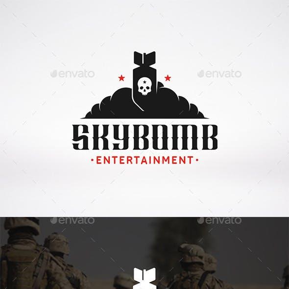 Sky Bomb Logo Template