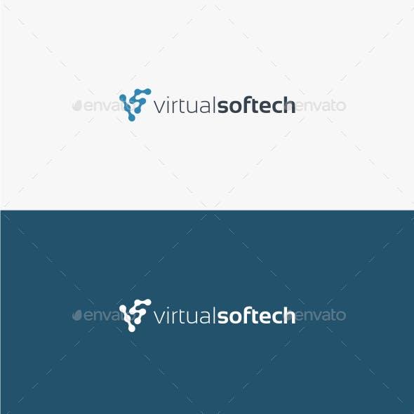 Virtual Softech - Logo Template