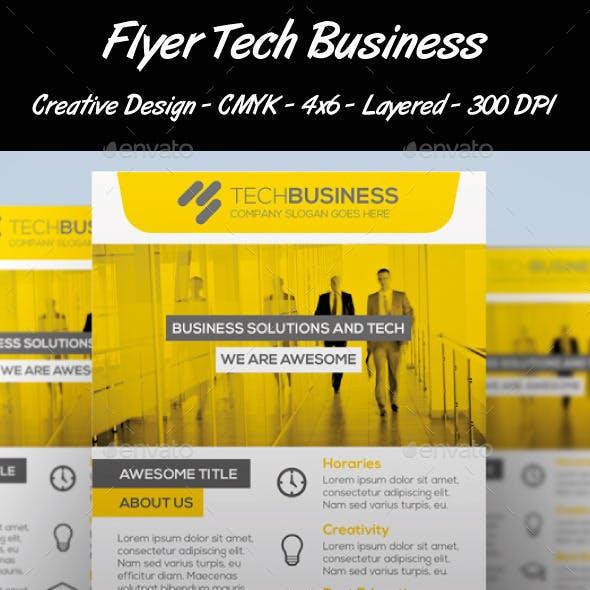 Flyer Tech Business