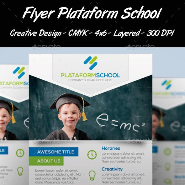 Flyer Plataform School