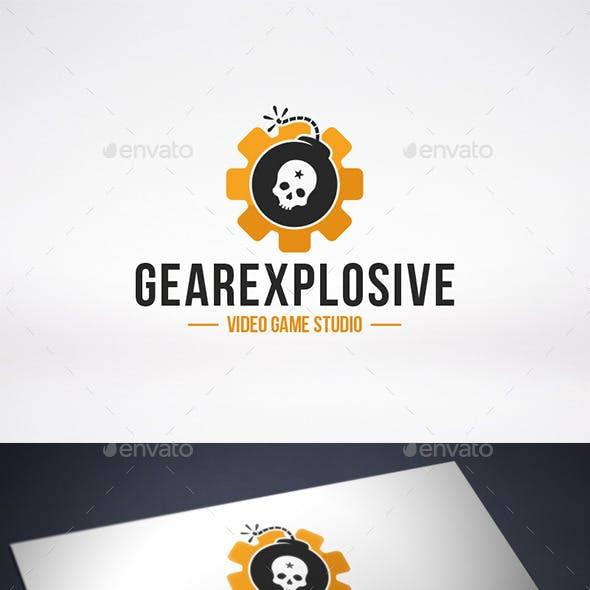 Gear Bomb Logo Template