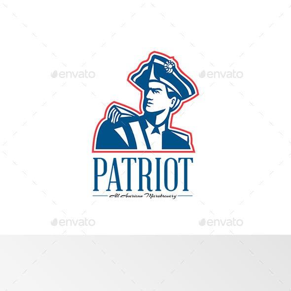 Patriot All American MicroBrewery Logo