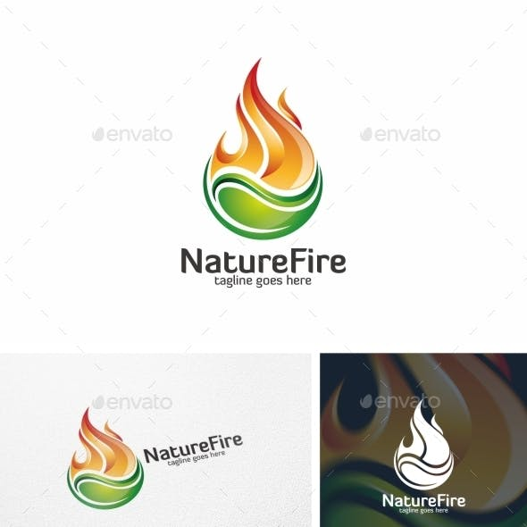 Nature Fire - Logo Template