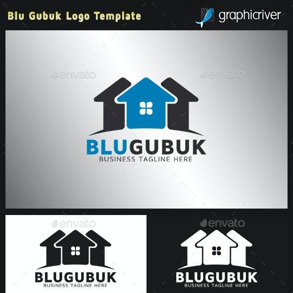Real Estate Logo - Blu Gubuk