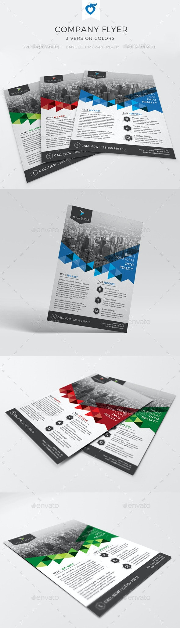 Company Flyer - Corporate Flyers