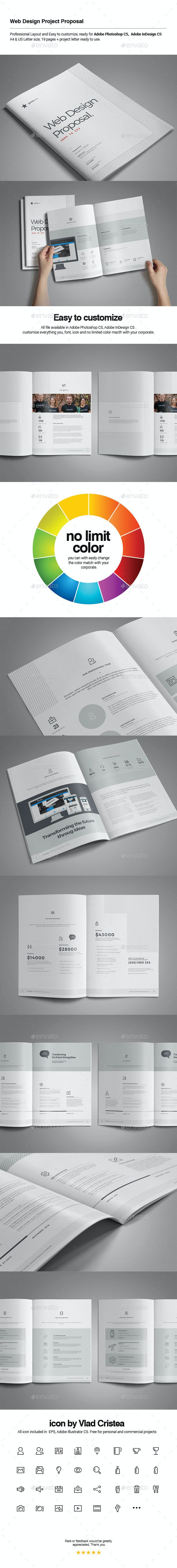 Web Design Proposal - Proposals & Invoices Stationery