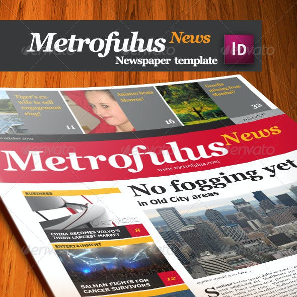 Metrofulus Newspaper