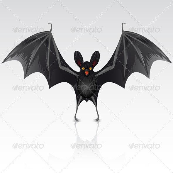 Black bat - Halloween Seasons/Holidays