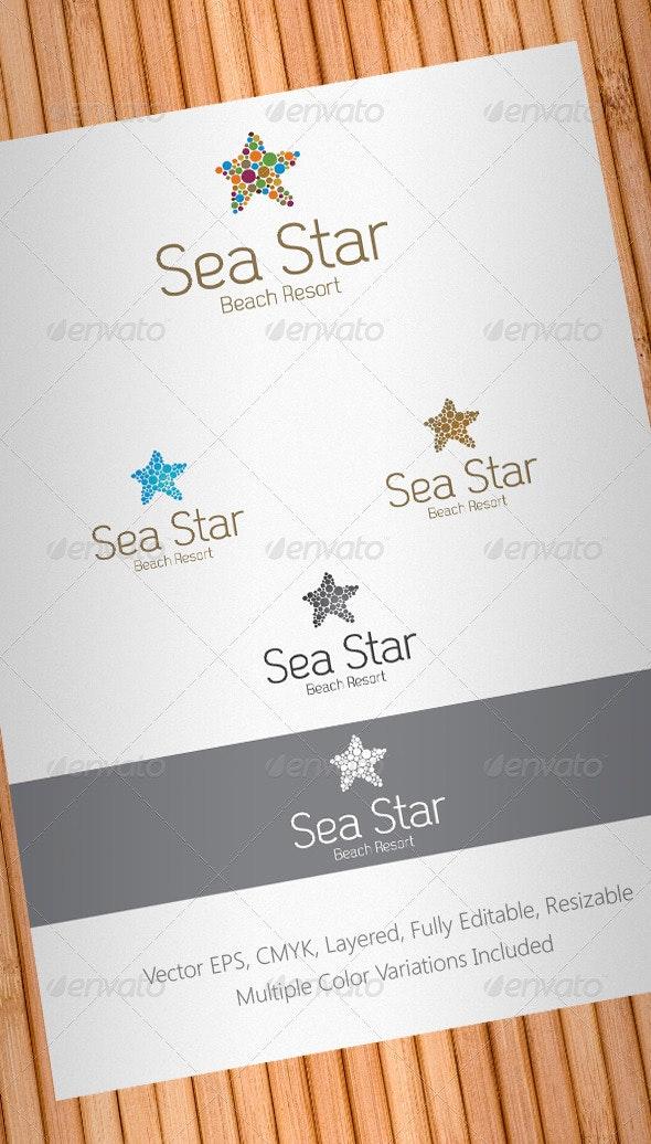 Sea Star Logo Template - Animals Logo Templates