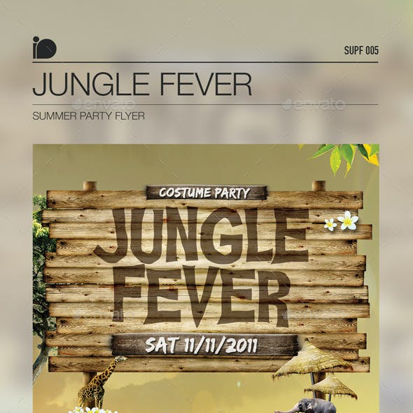 Summer Party Flyer • Jungle Fever