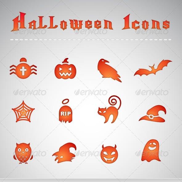 12 Halloween Icons