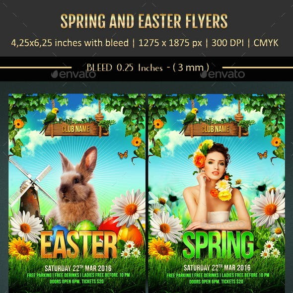 Spring and Easter Flyers