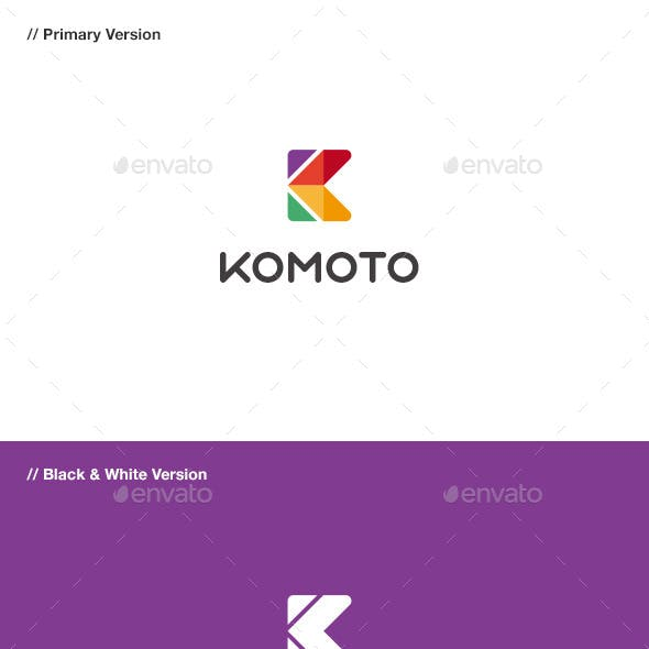 Komoto - Abstract Letter K Logo