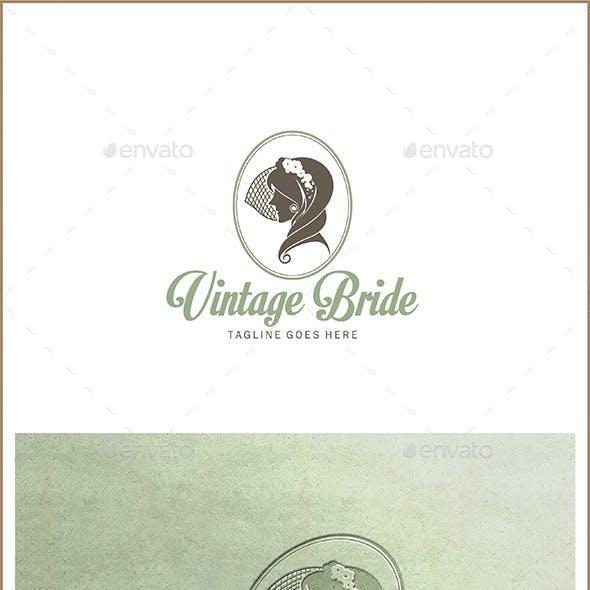 Vintage Bride - Bridal Logo Template