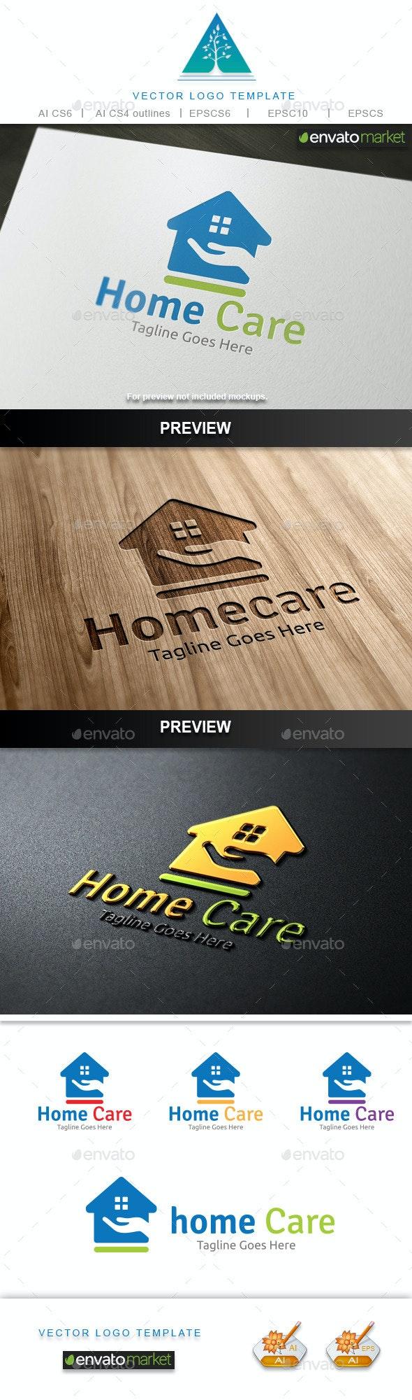 Home Care Logo - Buildings Logo Templates
