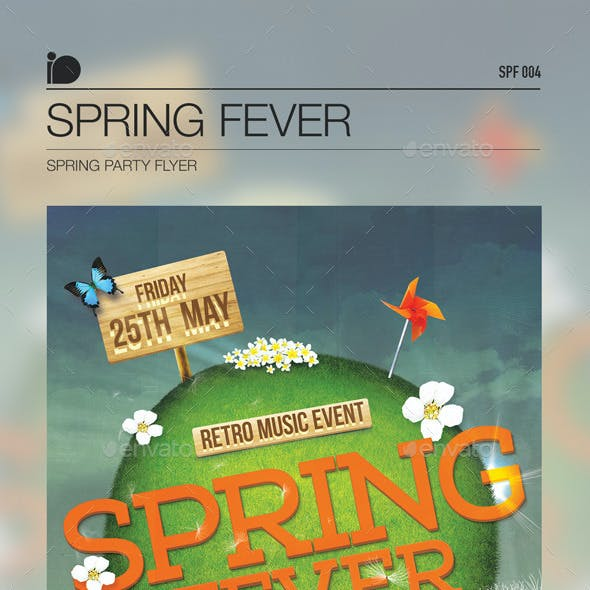 Spring Party Flyer • Spring Fever