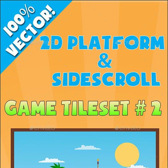 2D Platform & Sidescroll Tileset #2