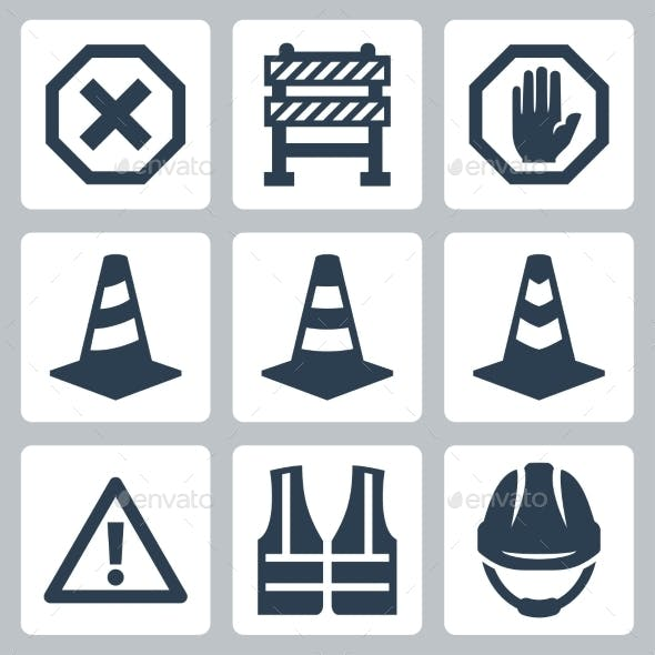 Warning and Job Safety Icons