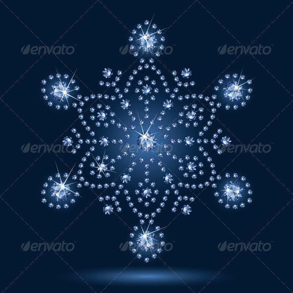 Snowflake - Christmas Seasons/Holidays