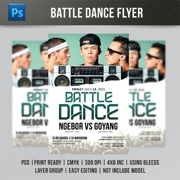 Battle Dance Flyer