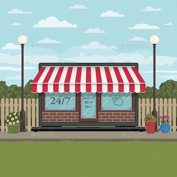 Online Shopping - Commercial / Shopping Conceptual