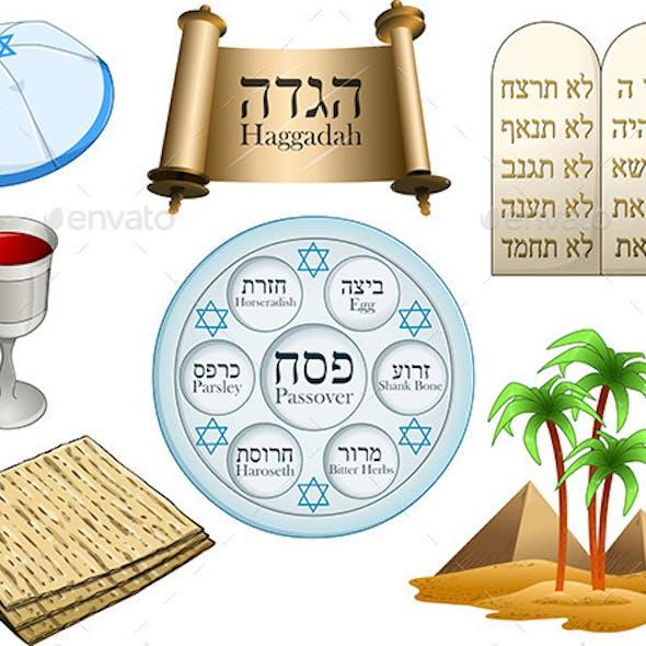 Passover Symbols Pack
