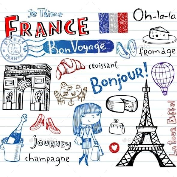 France Doodles