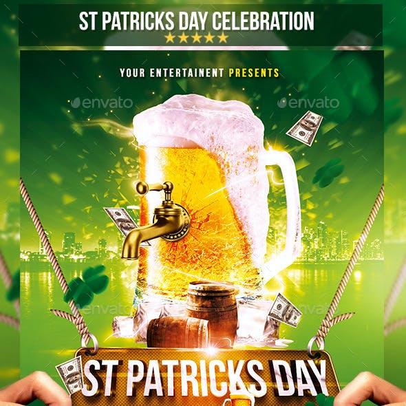 St. Patricks Day |  Celebration Flyer Template