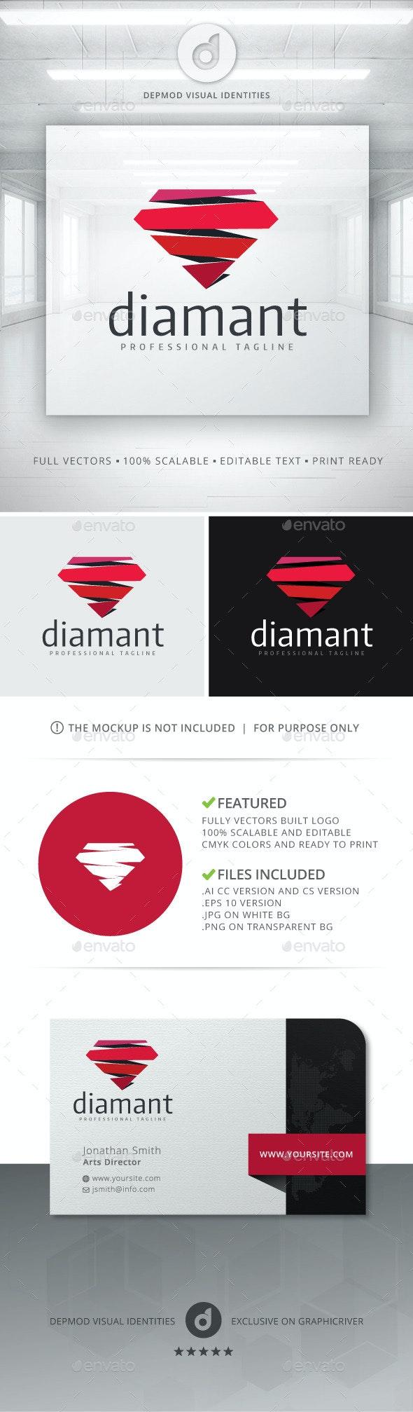 Diamant Logo - Objects Logo Templates