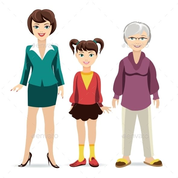 Three Ages of Women.