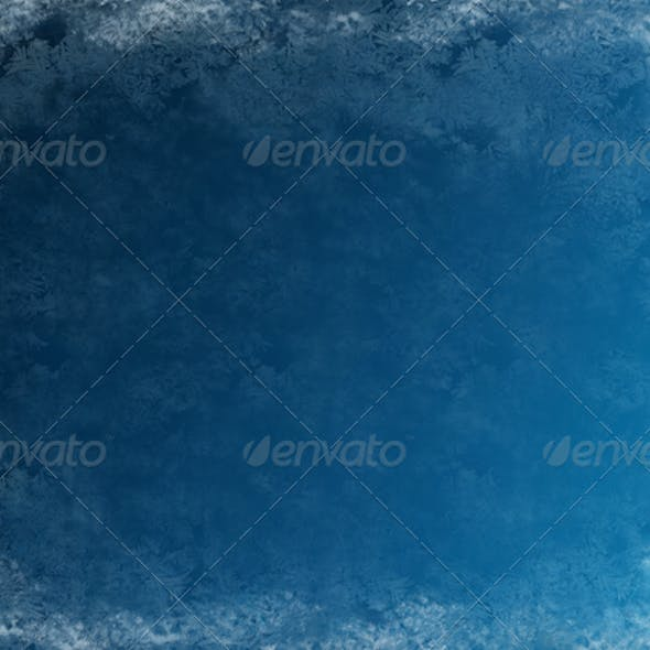 Frosty Blue Background