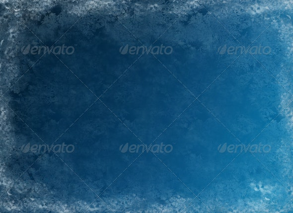 Frosty Blue Background - Backgrounds Graphics