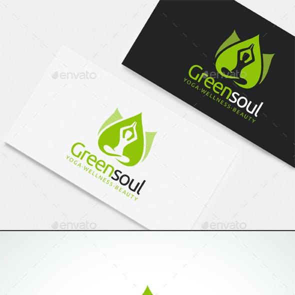 Yoga Wellness Beauty Logo Template