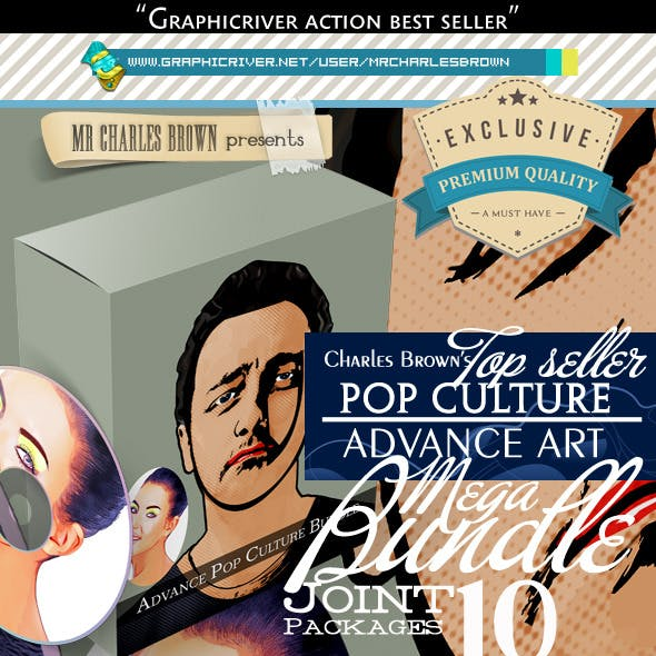 All Charles Brown's Advance Pop Culture Bundle