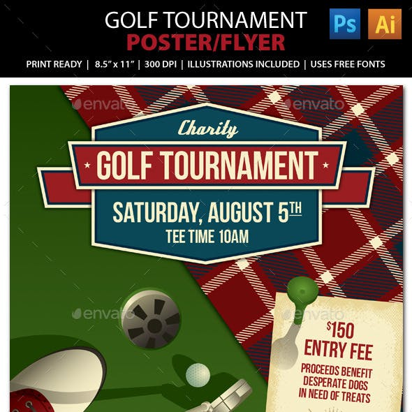 Golf Tournament / Event Poster or Flyer